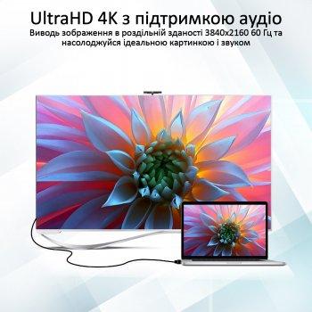 Кабель Promate ProLink4K2-10M HDMI/HDMI v2.0 4K 60 Гц 10 м Black (prolink4k2-10m.black)