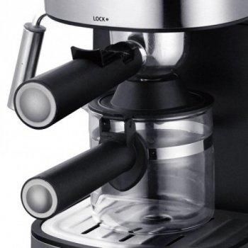Кофемашина с капучинатором LEXICAL PRO LEM-0601 800W (KKw-LEM-0987)