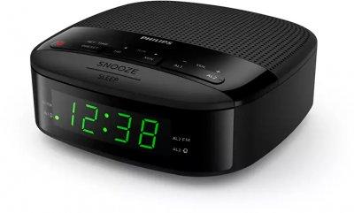 Акустическая система со встроенным часами Philips TAR3205 Black (TAR3205/12)