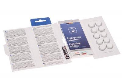Таблетки (10шт.) для видалення кавового жиру Bosch 311940