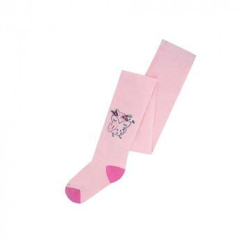 Колготки дитячі демісезонні бавовняні для дівчинки 4410 86-92 Світло-рожевий (044101541927195601)