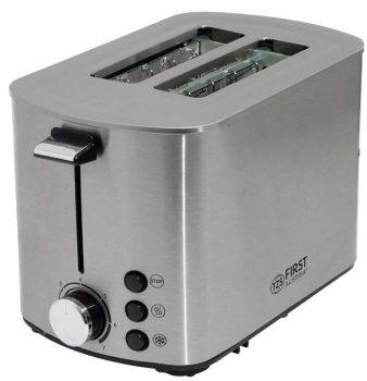 Тостер First FA-5367-3 850 Вт, 2 слоти сріблястий