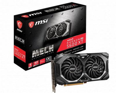 AMD Radeon RX 5600 XT 6GB GDDR6 Mech MSI OC (Radeon RX 5600 XT Mech OC)