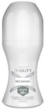 Дезодорант-антиперспирант Avon Без запаха с шариковым аппликатором 50 мл (82294)(ROZ6400101567)