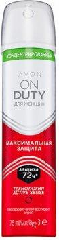 Концентрированный дезодорант-антиперспирант спрей Avon Максимальная защита 75 мл (1307333)(ROZ6400101578)