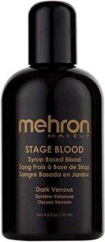 Кровь искусственная Mehron Stage Blood Темная венозная 133 мл (152-D-4) (764294515342)