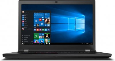 Ноутбук Lenovo ThinkPad P17 Gen 1 (20SN0048RT) Black