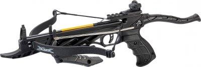 Арбалет-пістолет самозарядний Man Kung 3 стріли Чорний (MK/TCS1-BK)