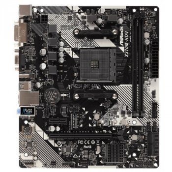 ASRock X370M-HDV R4.0 Socket AM4