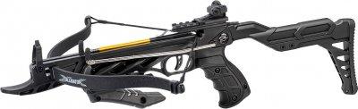 Арбалет-пістолет самозарядний Man Kung 3 стріли Чорний (MK/TCS2-BK)