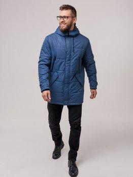 Куртка Riccardo Б-6 Серая с синим