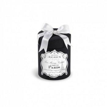 Масажна свічка Petits Joujoux - Paris - Vanilla and Sandalwood (190 г) розкішна упаковка