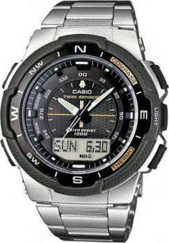 Чоловічі наручні годинники Casio SGW-500HD-1BVER