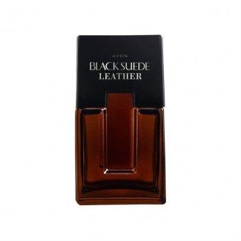 Туалетная вода мужская Avon Black Suede Leather 75 мл