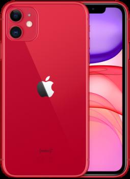 Мобільний телефон Apple iPhone 11 128 GB PRODUCT Red Slim Box (MHDK3) Офіційна гарантія