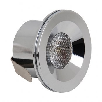 Світлодіодний світильник врізний Horoz Electric MIRANDA 3W 4200K мат.хром