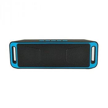Портативная колонка SC-208 bluetooth blue