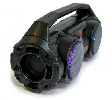 Небольшая беспроводная колонка KIMISO: AUX, FM-радио, USB, TF (1008068-Black-1)