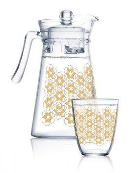 Набор для напитков Luminarc Neo Golden Flower Maze Q0569 7 предметов