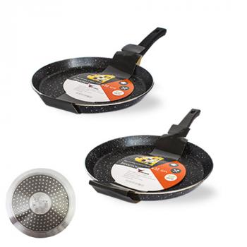 Сковорода для блинов SNT Hi-Tech 8081-24/22 см