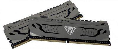 Модуль пам'яті DDR4 8GB/3200 Patriot Viper Steel Gray (PVS48G320C6)