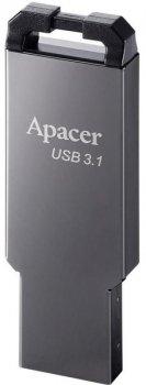 Apacer AH360 16GB USB 3.1 Ashy (AP16GAH360A-1)