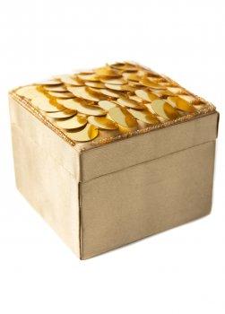 Декоративна коробочка з паєтками (dec0000426)
