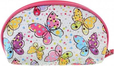 Косметичка Yes Weekend Butterflies 1 відділення Різнобарвна (532644)