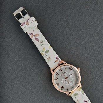Классические Женские Часы Qulijia OL2-03 c белым ремешком