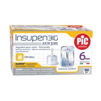 Иглы инсулиновые для шприц ручек Artsana Инсупен 6 мм (Insupen 6 mm 31G)