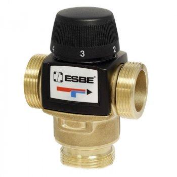 """Термостатичний змішувальний клапан ESBE ВТА 372 G 1"""" 30-70°С kvs 3.4"""