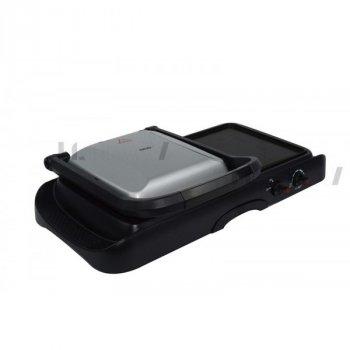 Контактний гриль прижимний електричний комбінований 2в1 DSP 1600Вт (KB1050)