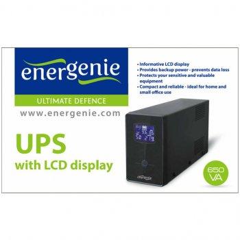 Пристрій безперебійного живлення EnerGenie EG-UPS-031 650VA LCD (EG-UPS-031)