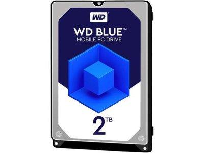 Накопичувач HDD 2.0 TB WD Blue 5400rpm 128MB (WD20SPZX)