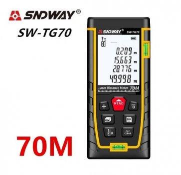 Лазерний далекомір SNDWAY SW-ТG70 до 70 метрів