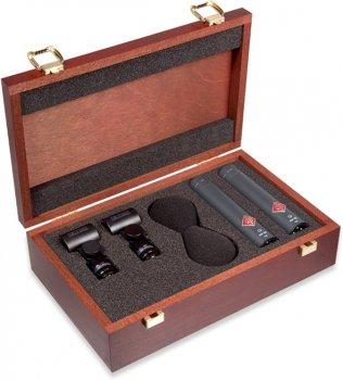 Набір мікрофонів Neumann KM 185 MT Stereo Set Black (008525)