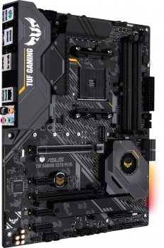 Материнська плата Asus TUF Gaming X570-Plus (sAM4, AMD X570, PCI-Ex16)