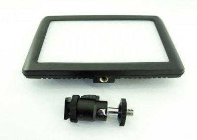 Накамерный свет биколорный светодиодный видеосвет Wansen Pad 192 LED Video Light фото видео с регулятором цветовой температури ( Pad192LED )