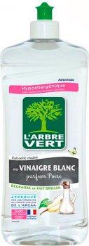 Средство для мытья посуды L'Arbre Vert Груша с белым уксусом 750 мл (3450601031618)