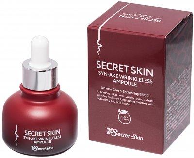 Ампульная сыворотка для лица с пептидом змеиного яда Secret Skin Syn-Ake Wrinkleless Ampoule 30 мл (8809540515300)