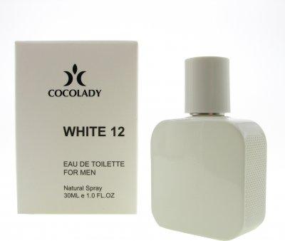 Парфюмированная вода для мужчин Cocolady White 12 30 мл (4820218790830)