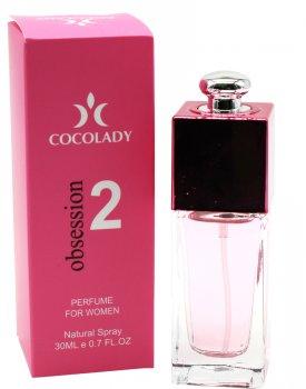 Парфюмированная вода для женщин Cocolady Obsession 2 30 мл (4820218791134)