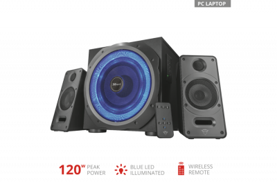 Trust GXT 688 Torro Illuminated 2.1 Speaker Set(23043)