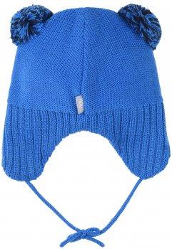 Зимняя шапка с завязками Lenne Cedric 19377/658 48 см Голубая (4741578363062)