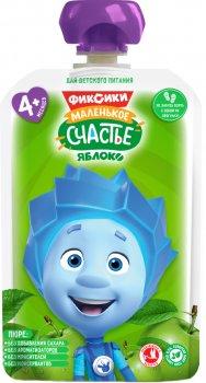 Упаковка дитячого пюре Фіксікі Яблуко в паучі 90 г х 12 шт (4813163003346)