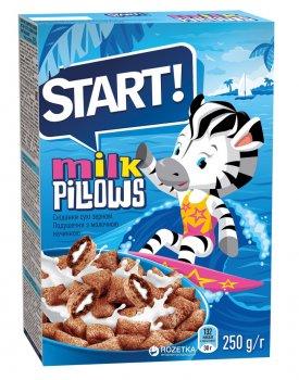 Упаковка сухого завтрака Start с молочной начинкой 250 г х 16 шт (4820008123190)