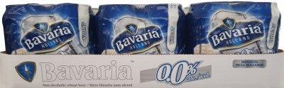 Упаковка пива Bavaria WIT світле нефільтроване 0.0% 0.33 л x 24 шт. (8714800039536)