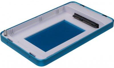 "Зовнішня кишеня Argus для HDD/SSD 2.5"" SATA III - USB Type-C Blue (GD-25609-BL)"