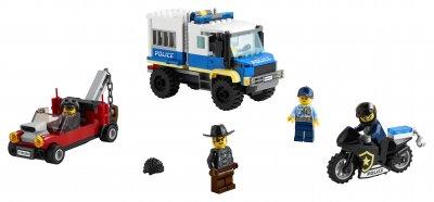 Конструктор LEGO City Police Полицейская машина для перевозки заключенных 244 детали (60276)