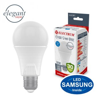 Светодиодная (LED) лампа ELECTRUM 15W 4000K (A-LS-1941)
